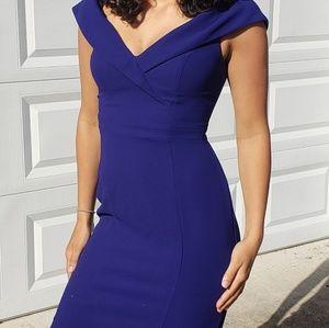 Stunning, King blue cocktail dress